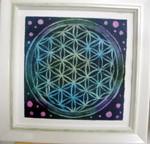 フラワーオブライフ・アート&曼荼羅アートを習ってきました!