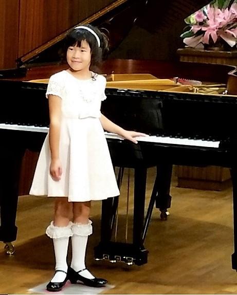 みくる 初ピアノ発表会