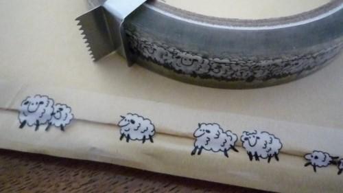 羊のテープ!!!