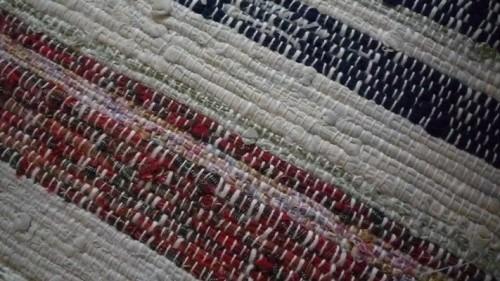 たて糸 よこ糸の織り。