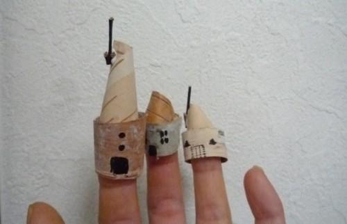 指さきの・・こびとの家。