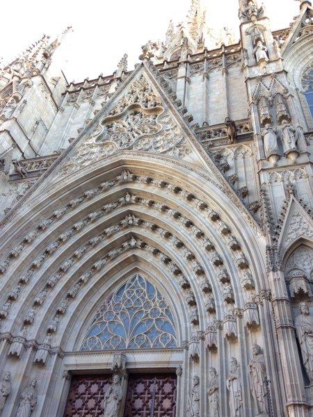 カテドラル・・・古きよきバルセロナ ⑧