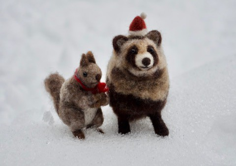 雪は雨へと〜クリスマス!