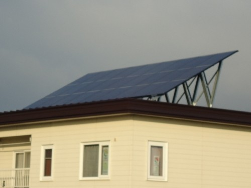 eco(エコ)太陽光発電開始