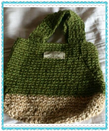 夏の編み編み作品