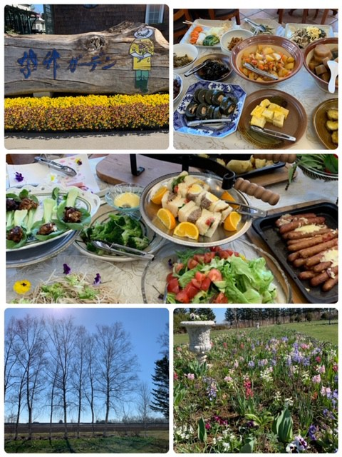 紫竹ガーデンで朝食を♪