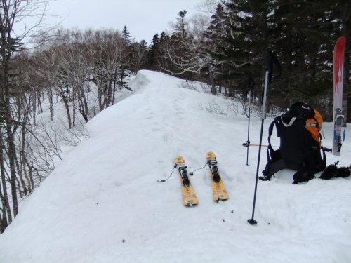 春スキーにはちょっと早かった