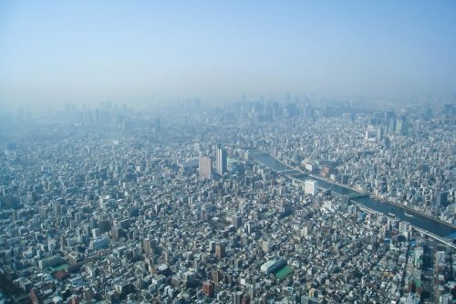 The View from TOKYO SKYTREE