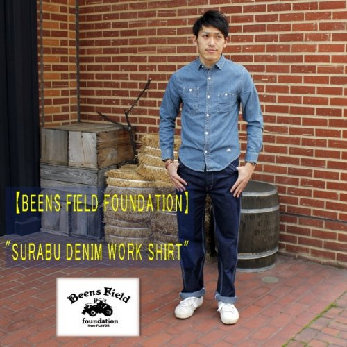 "【BFF】""SURABUDENIM WORKSHIRT"""