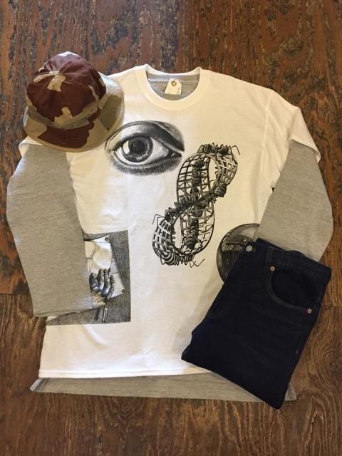 M.C.Escher  Tシャツ入荷!!
