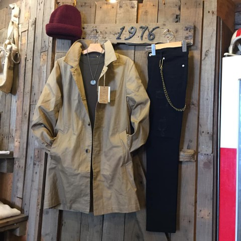 ELEVEN EIGHT モックネックカットソー入荷!!