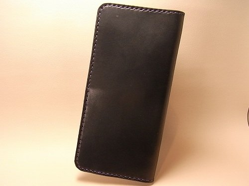 オーダーメイド 栃木レザー社製サドルレザー シンプルな長財布
