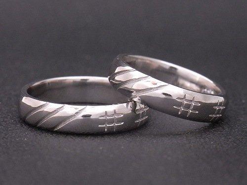 オーダーメイド プラチナ 帯広の手作り結婚指輪