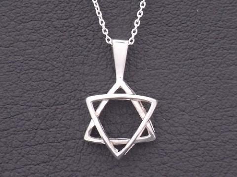 オーダーメイドで作製した六芒星ネックレス!
