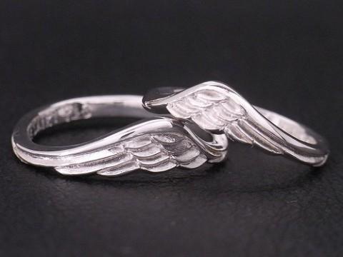 オーダーメイド 上昇・飛躍を意味する翼のペアリング