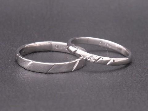 生徒さん作!pt900の結婚指輪!!