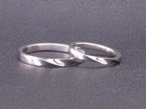 シンプルな結婚指輪! プラチナ(pt900)