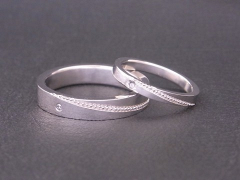 グランドガレリアの手作り結婚指輪!