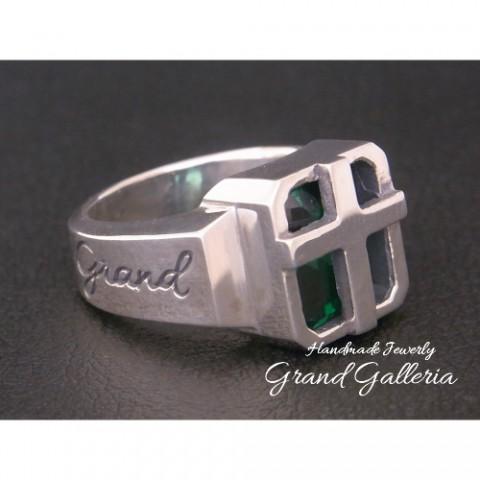 新作! 「Grand Galleria」クロスリング!!