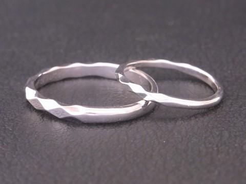 3年前にペアリングをご購入頂いてからついに結婚指輪まで!