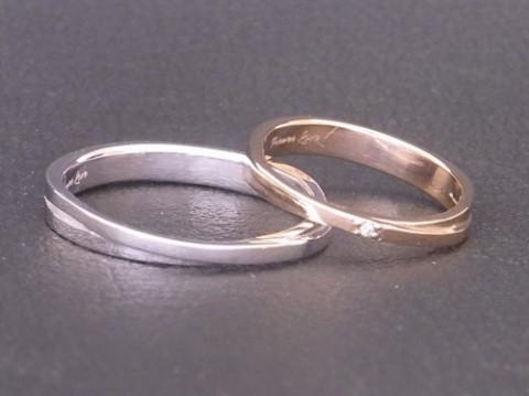 高校時代の同級生の結婚指輪! 明日3/10は休業します!