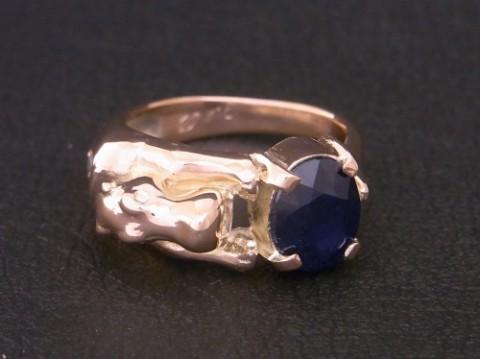 オーダーメイド! K10PG(ピンクゴールド) カバの指輪