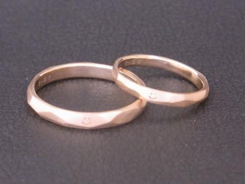 ニコちゃんマークの結婚指輪と年末年始の営業について