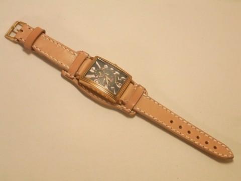 オーダーメイド! 栃木サドルレザーの腕時計ベルト!!