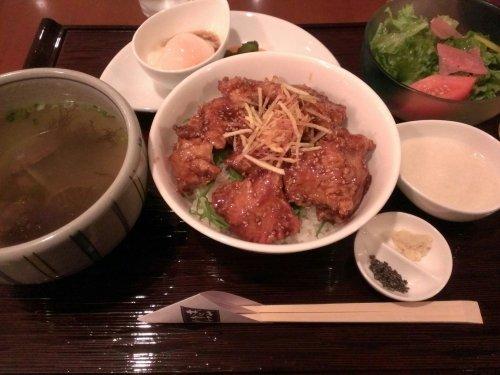 オホーツク網走ザンギ丼と能取岬