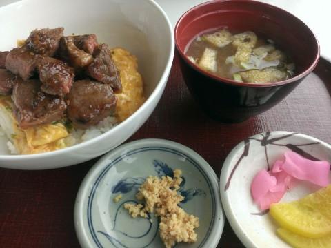 十勝清水牛玉ステーキ丼&牛トロ丼