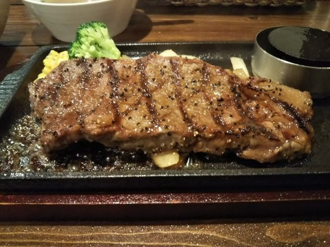 石倉家さんのサーロインステーキ
