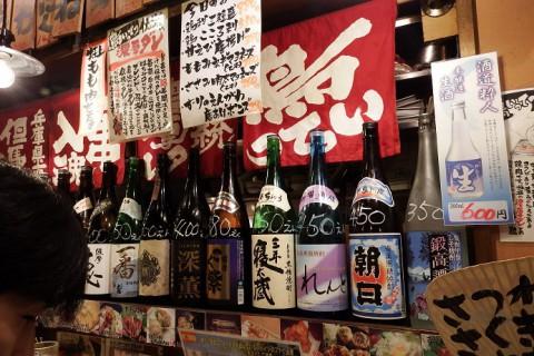 大阪の夜~♪ 西中島~十三(じゅうそう)