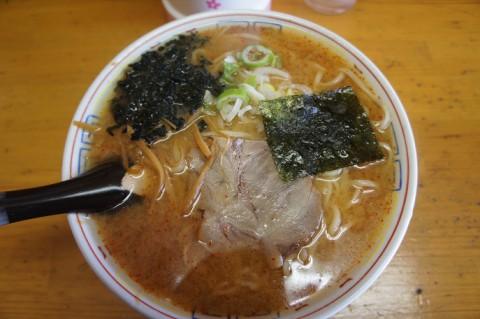 芽室町・三平坂の上店さんの味噌ラーメン