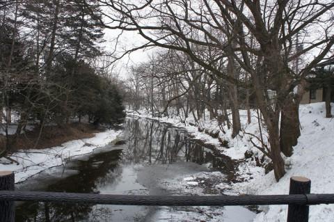 雪の水光園