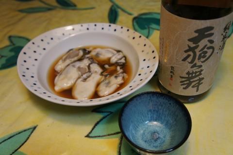 牡蠣酢&天狗舞