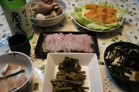 蘭奢待(醴泉大吟醸)&煮ツブ