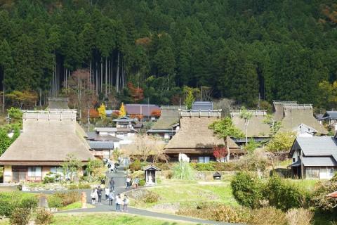 九州の旅(帰途) 福知山~亀岡~南丹市美山(茅葺の里)