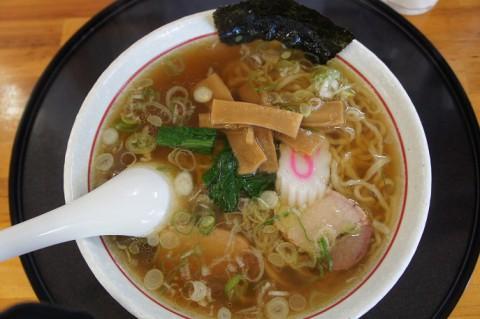 福島県白河ラーメン~♪麺屋 きんぞうさんの手打中華