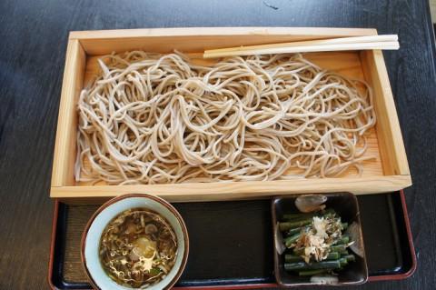 山形県鶴岡市・とうげの味処大川商店さんの板そば
