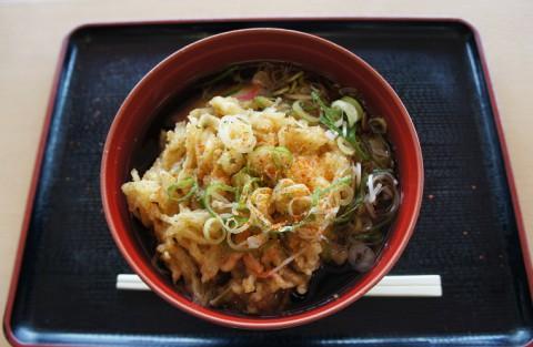 宮城県白石市・はたけなか製麺さんの天ぷらうーめん