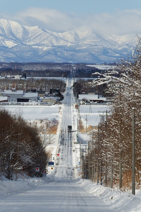 カメラスケッチ・音更町の雪景色