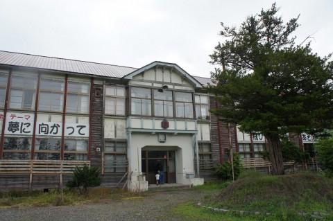 石狩・旧弁華別小学校校舎