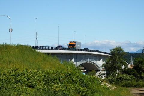 8月5日全面通行開始~中島橋