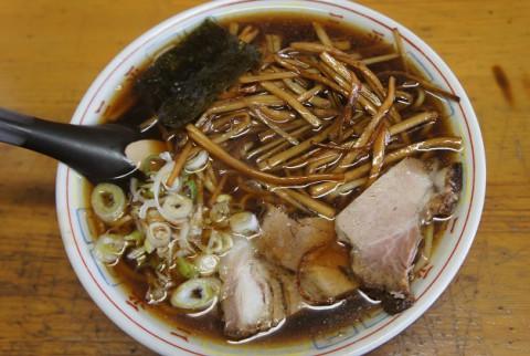芽室町・ラーメン三平坂の上店さんの竹の子正油