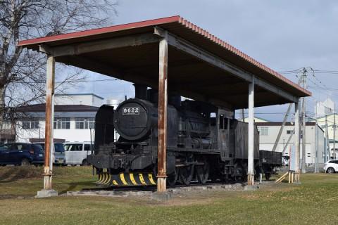北海道拓殖鉄道のSL(鹿追町)