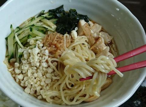 夏季限定 冷やしたぬき麺/らーめんキッチン Naru-to