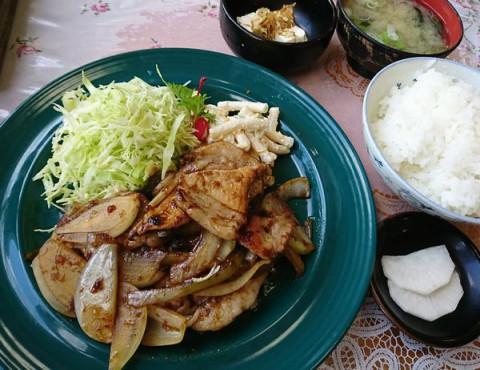 豚肉スタミナ定食(再食)/ ドライブイン 八重洲( やえす)