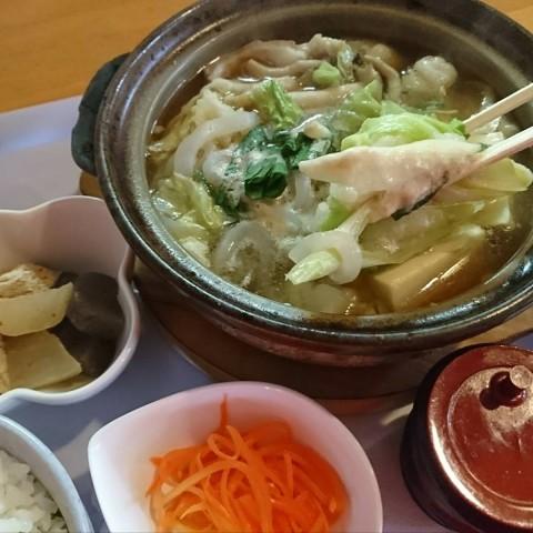 もつ鍋定食/めしcafeピグレット