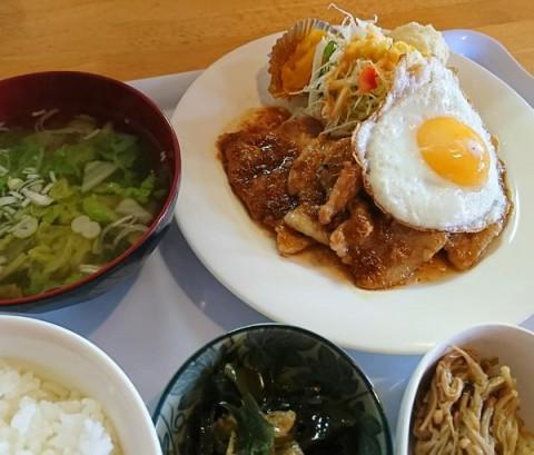 生姜焼き定食/めしcafeピグレット