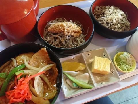 蕎麦始めました♬/めしcafeピグレット